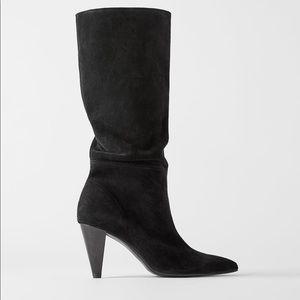 Zara | Suede boots